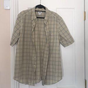 Short sleeve button down shirt